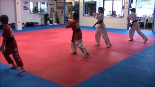 Practice with Modo Martial Arts' students
