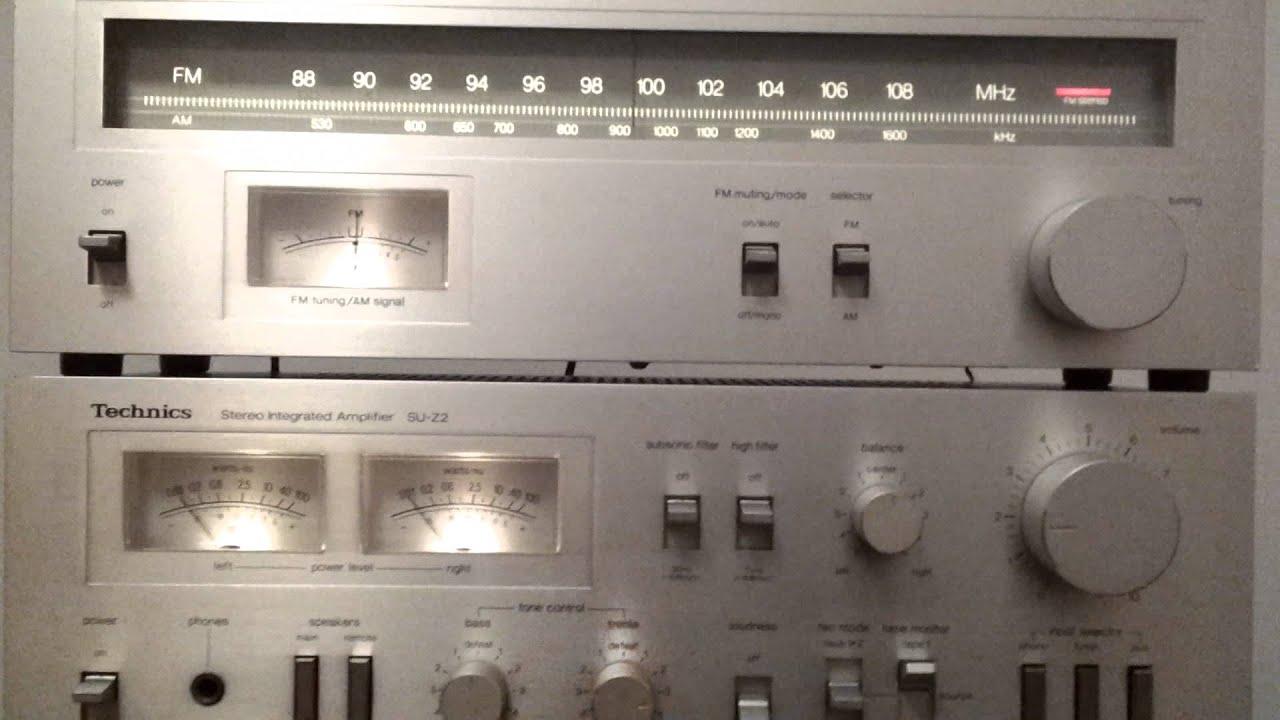 Technics Cassette Deck M5  Tuner St
