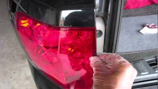 honda pilot brake light bulb replacement