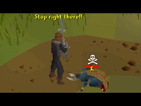 Falador Guard Goes Pking...