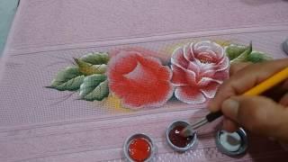 Roberto Ferreira – Pintura Rosas Simples