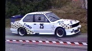 Rallye BMW E30 6 cylindres pure sound historic Rally car