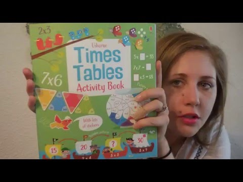 Times Tables Activity Book - Usborne Books and More!
