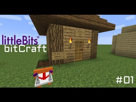 bitCraft - #01 - littleBits & Minecraft - Let's Play - PC•720p•60fps