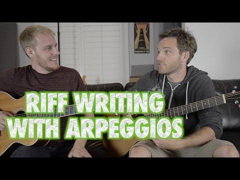 Writing Guitar Riffs with Arpeggios