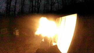 Desert Eagle Low Light Muzzle Flash Videos!! Burning Ring of Fire