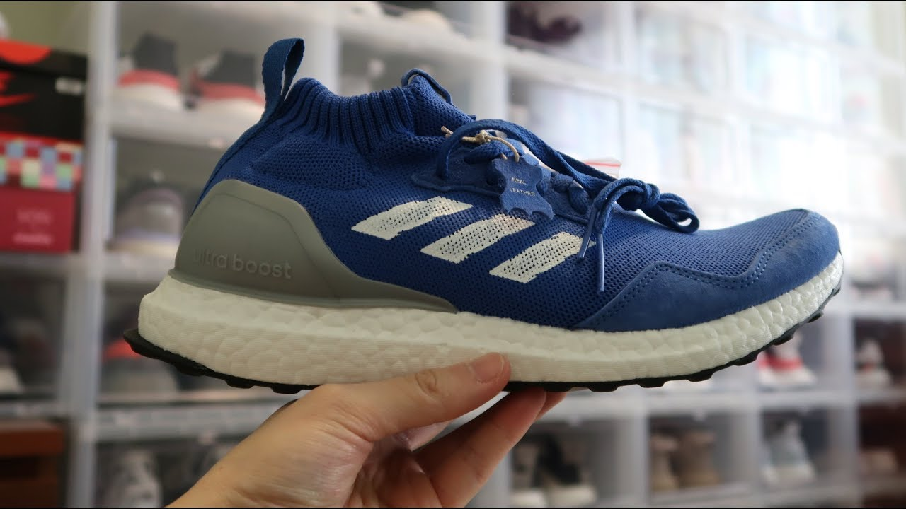 eb439cf085a Adidas Ultra Boost Mid  Run Thru Time  Sneaker Unboxing - YouTube