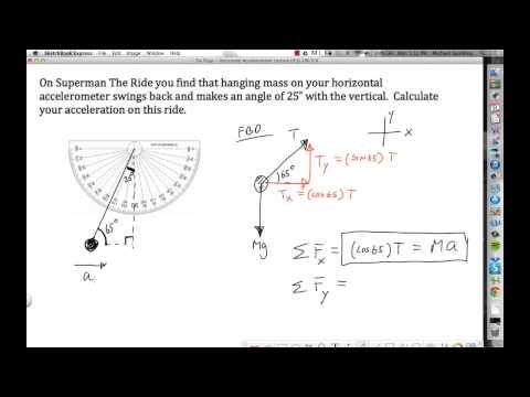 Six Flags - Horizontal Accelerometer  mp4 - YouTube