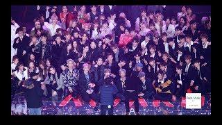 방탄소년단 (BTS) Ending 앵콜 IDOL + 단체기념사진@190115