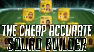 THE MOST ACCURATE AFFORDABLE FREE KICK SQUAD (CHEAP) | FIFA 14 Ultimate Team Squad Builder (FUT 14)