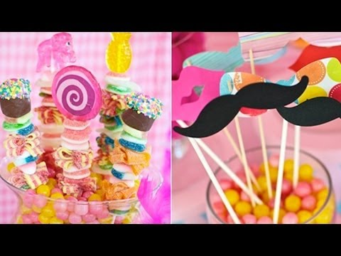¿Cómo hacer arreglos de mesas con dulces? / How to arrange tables with candy? from YouTube · Duration:  9 minutes 34 seconds