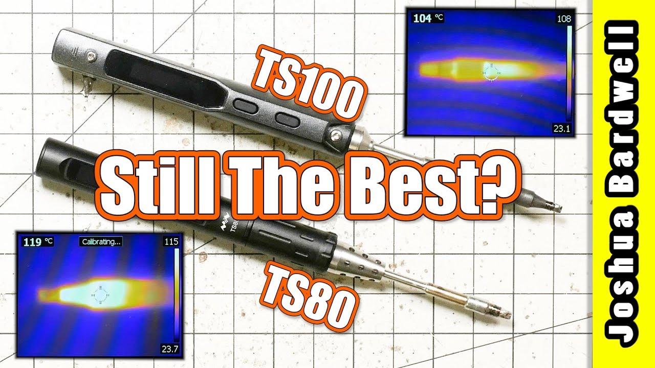 Best Portable Soldering Iron TS80 vs  TS100