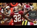 Samaje Perine looks like the real deal and should be Washington's lead back in 2018