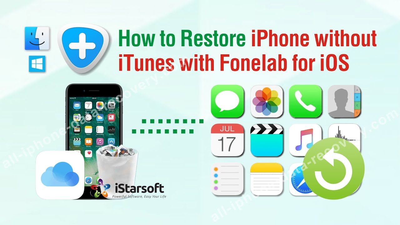 How to restore iphone in dr.fone for free