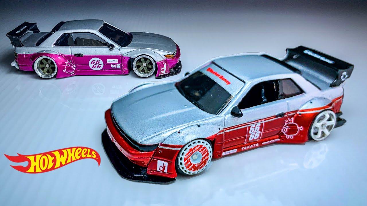 Nissan Silvia S13 Rocket Bunny Fitment Wheels Hot Wheels custom