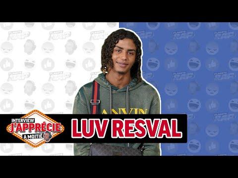 Youtube: Interview«J'apprécie à moitié» avec Luv Resval #60