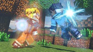 Minecraft - NARUTO VS SASUKE ‹ ESCOLHA A PORTA › MINI-GAME (LUCKY BLOCK)