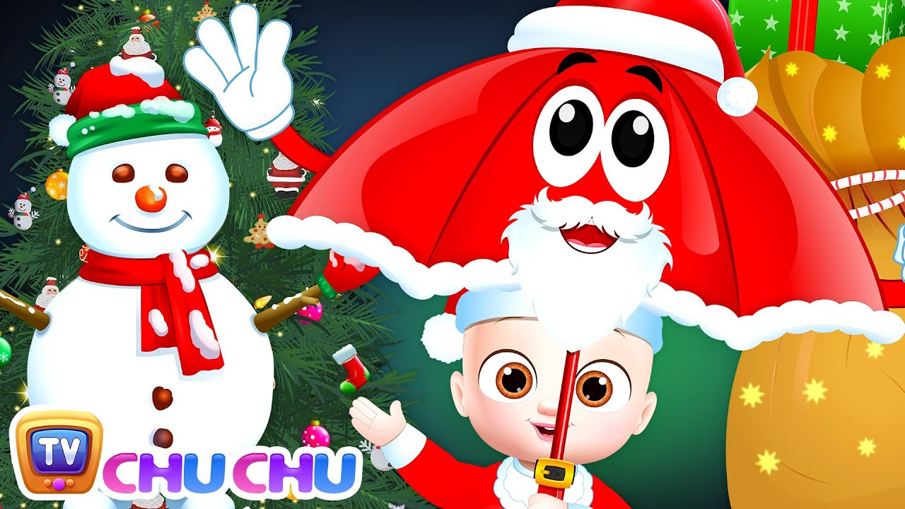 Christmas Rain Rain Go Away Song - ChuChu TV Baby Nursery Rhymes and Kids Songs