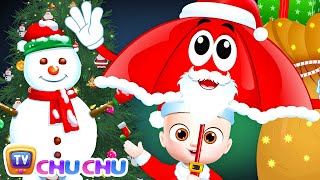 Christmas Rain Rain Go Away Song - ChuChu TV Baby Nursery Rhymes and Kids Songs