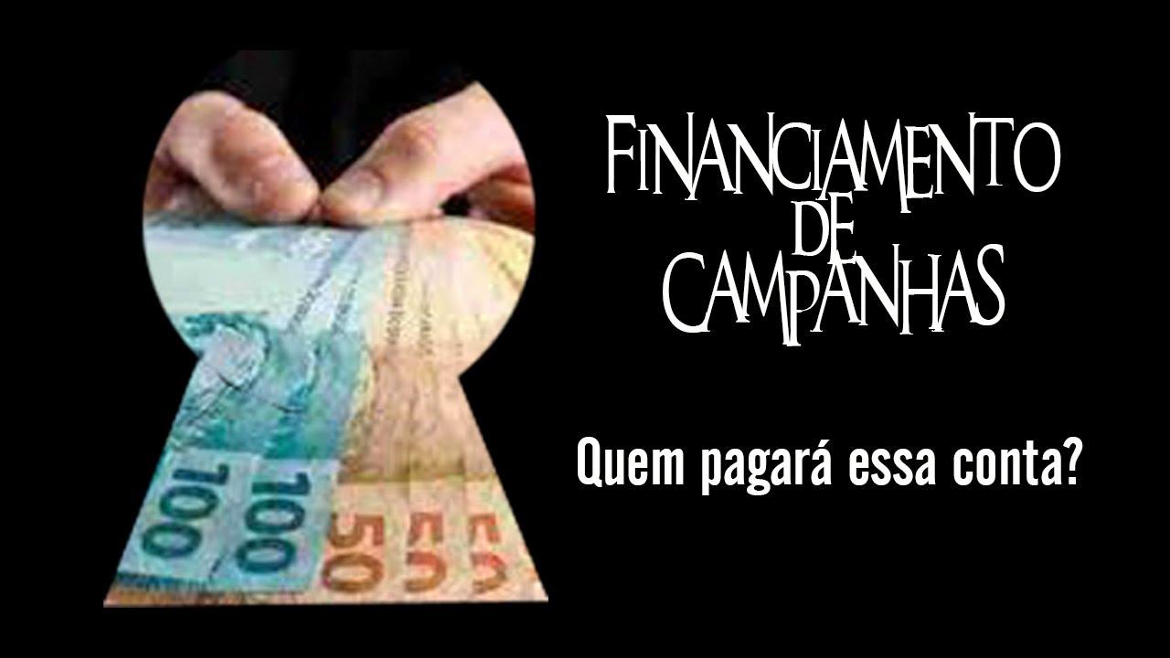 Resultado de imagem para FINANCIAMENTO ELEITORAL