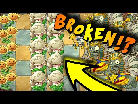 CAULIPOWER IS THE MOST BROKEN PLANT IN THE GAME!?! | Plants Vs Zombies 2