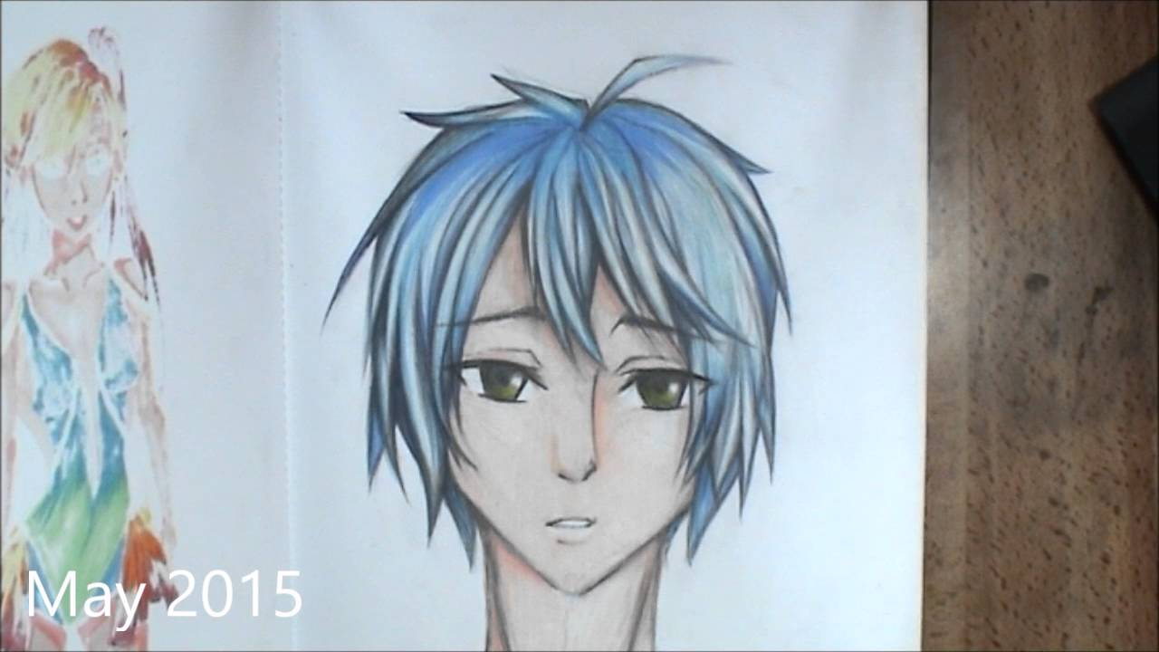 My Anime Drawings 20132015 [Age 1214]  YouTube
