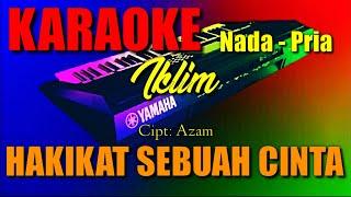 Download HAKIKAT SEBUAH CINTA - Iklim - Cipt: Azam ( KARAOKE )