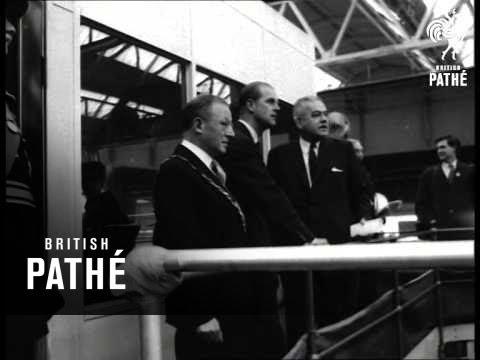 Duke Opens Steel Plant (1963)