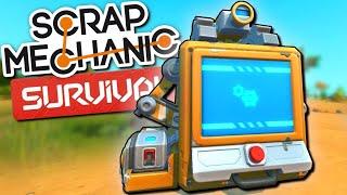 Стрим Scrap Mechanic! Строим грузовик для путешествия