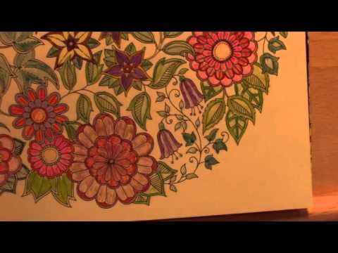 Colored Pencils For Grown Up Coloring Adult Coloring With Ohuhu Colored Pencils  YouTube