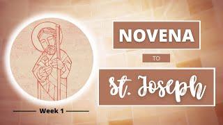 NOVENA TO ST JOSEPH   Intro: A Universal Saint