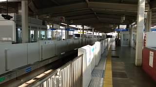 横浜市営地下鉄3000R形3451F 普通あざみ野行き 新羽駅到着