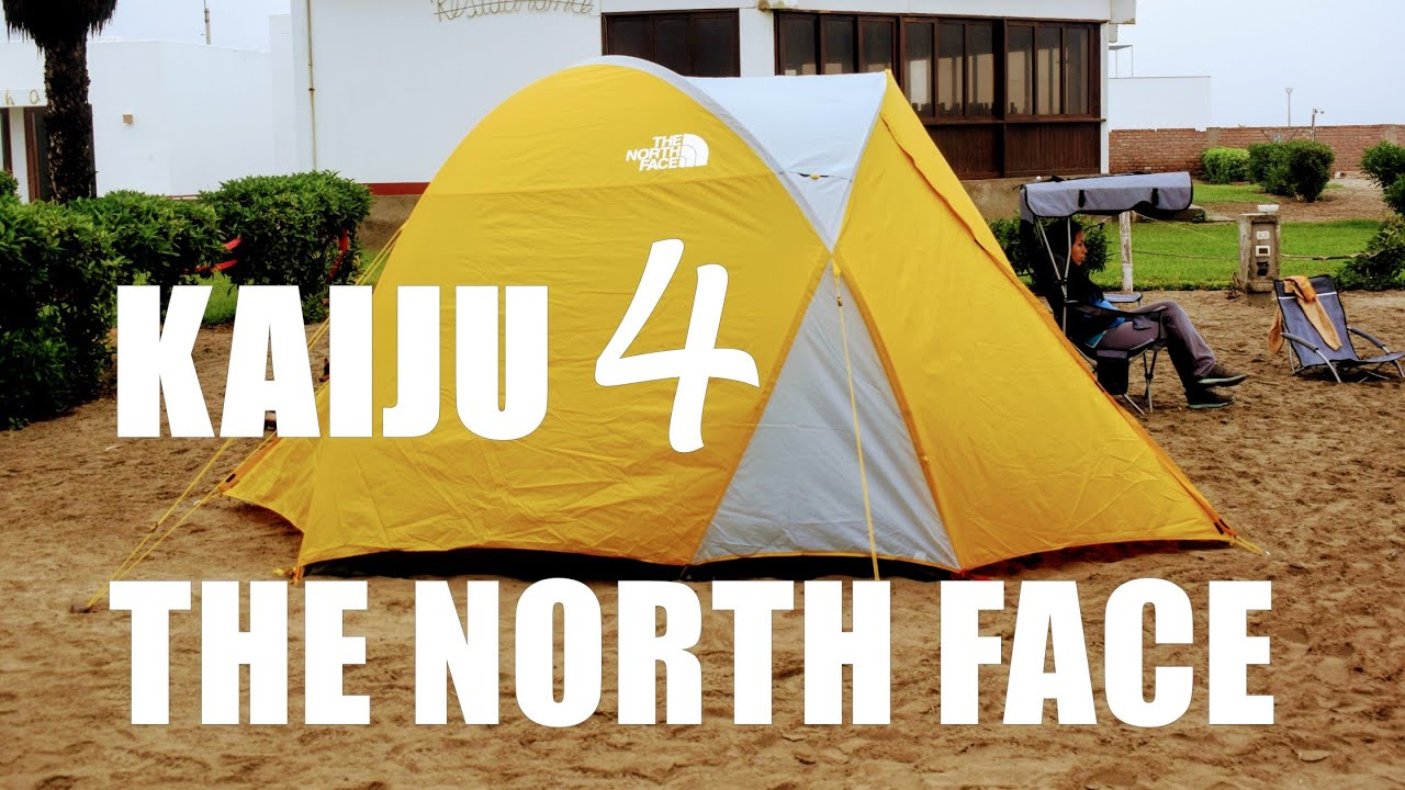 9ed5ce361 The North Face Tent Kaiju 4 - Unboxing Carpa