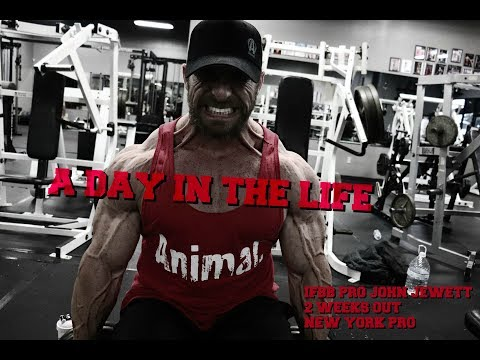 Day in the Life: 2 weeks out New York Pro 2018: John Jewett