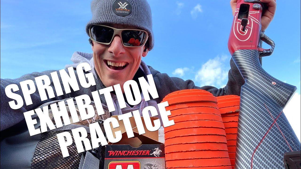 Spring Exhibition Practice 😎 Inside My Range Bag | Steve Gould