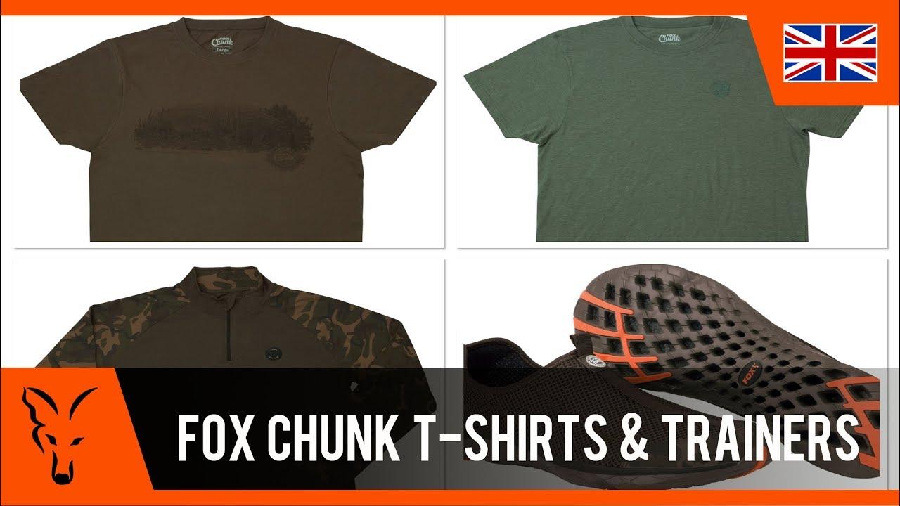 Fox Chunk Camo Khaki Edition T-Shirt Carp Fishing Clothing