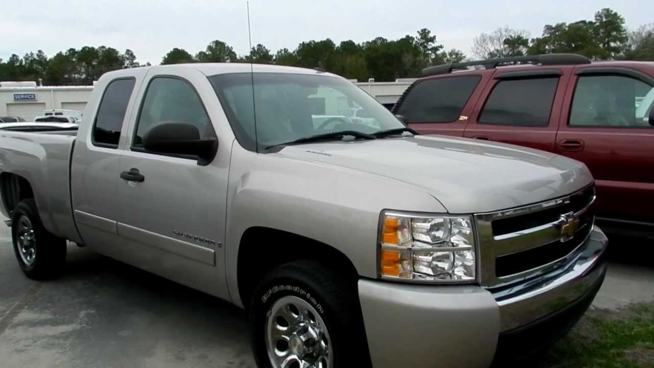 2007 chevy silverado extended cab for sale marchant. Black Bedroom Furniture Sets. Home Design Ideas