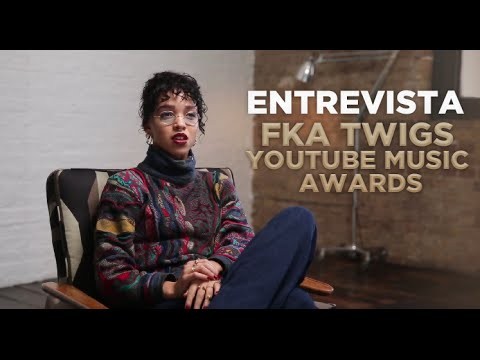Entrevista FKA twigs - YouTube Music Awards (Legendado/PT-BR)
