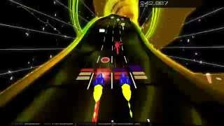 Audiosurf 2: Strawbelly Cake - Bad Apple (double vision)