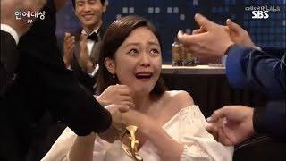 SBS演艺大赏:running man全昭旻获最优秀奖cut YouTube的评论
