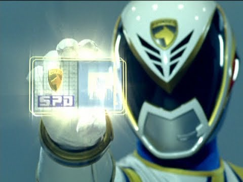 Power Rangers S.P.D. - Messenger - The Power Rangers meet Omega Ranger