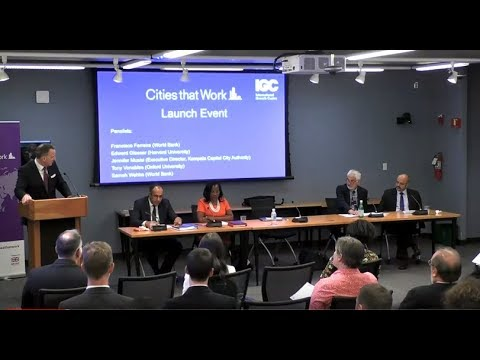 Cities that Work launch event at the World Bank