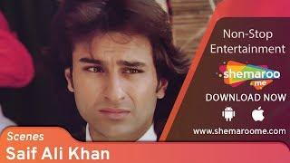 Saif Ali Khan Scenes from Kachche Dhaage -  Ajay Devgn - Namrata Shirodkar - 90s Best Movie