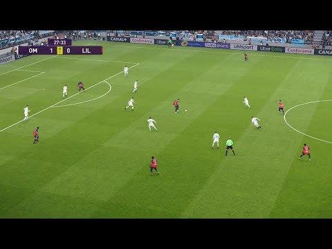 Olympique De Marseille Vs Lille OSC | Ligue 1 | Journée 12 | 02 Novembre 2019 | PES 2020