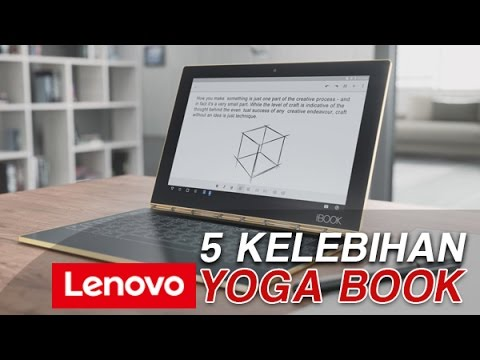 5 Keunggulan Tablet Hybrid, Lenovo Yoga Book