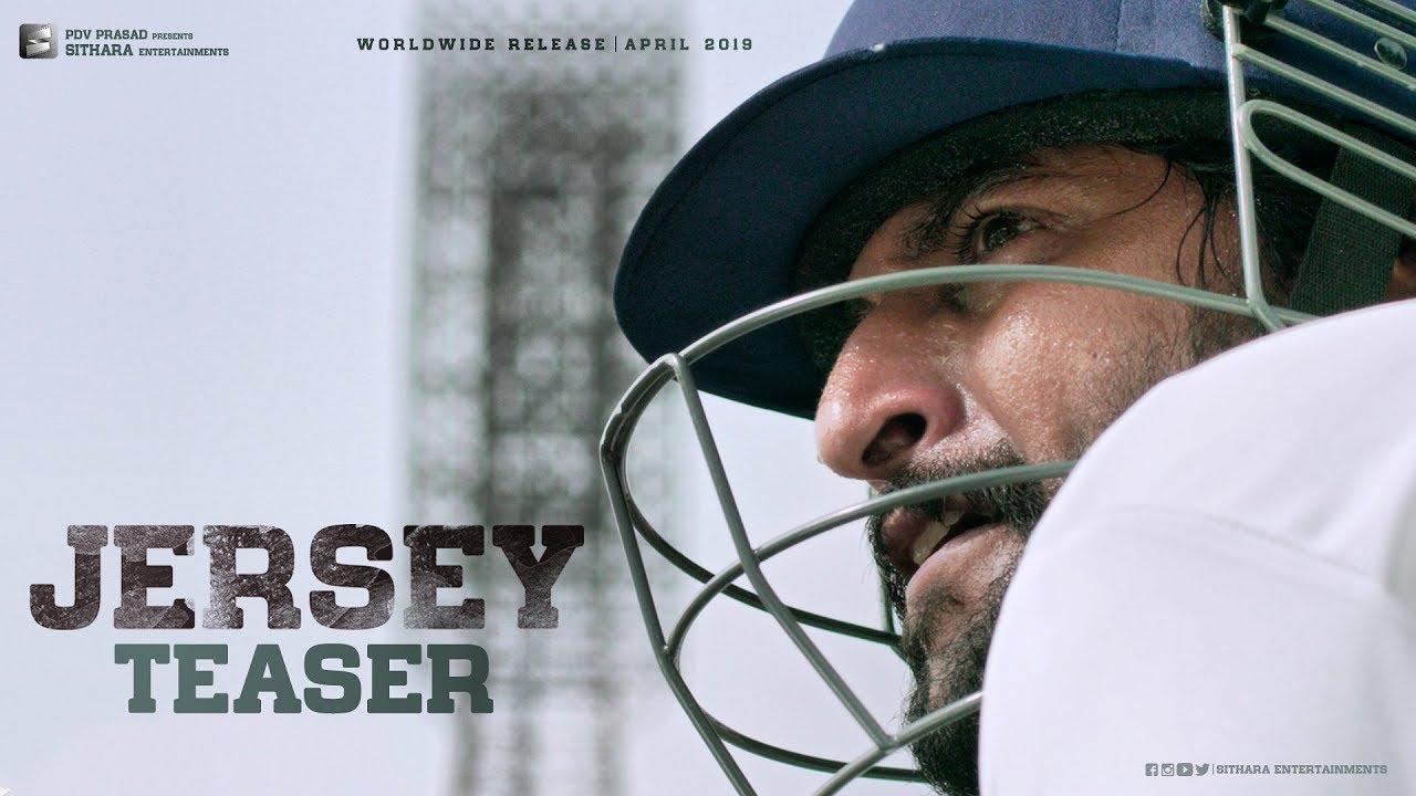 JERSEY Official Teaser | Nani, Shraddha Srinath | Gowtam Tinnanuri | Anirudh