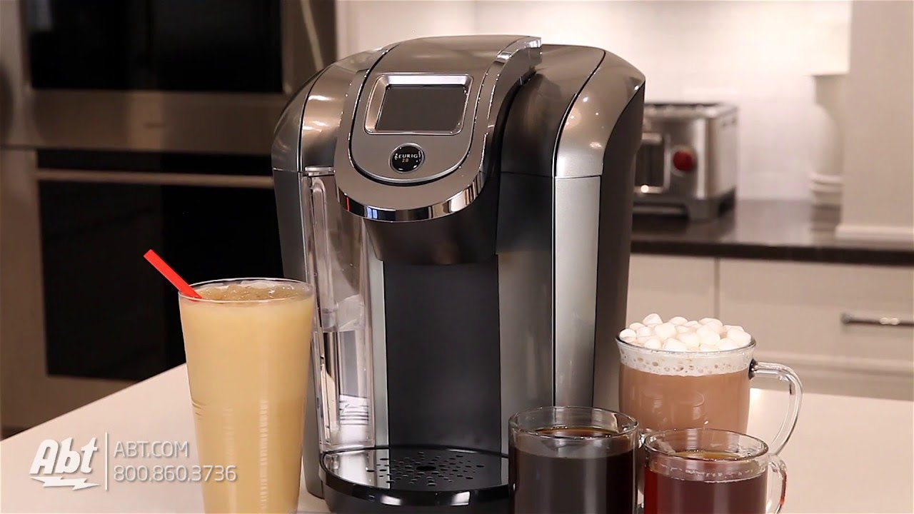 Keurig K475 Black Hot Brewer Coffee Maker 119297 - Overview - YouTube