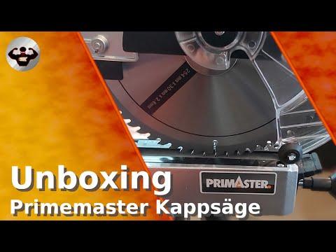 Unboxing meiner Primaster KZS-UG1800 Kappsäge