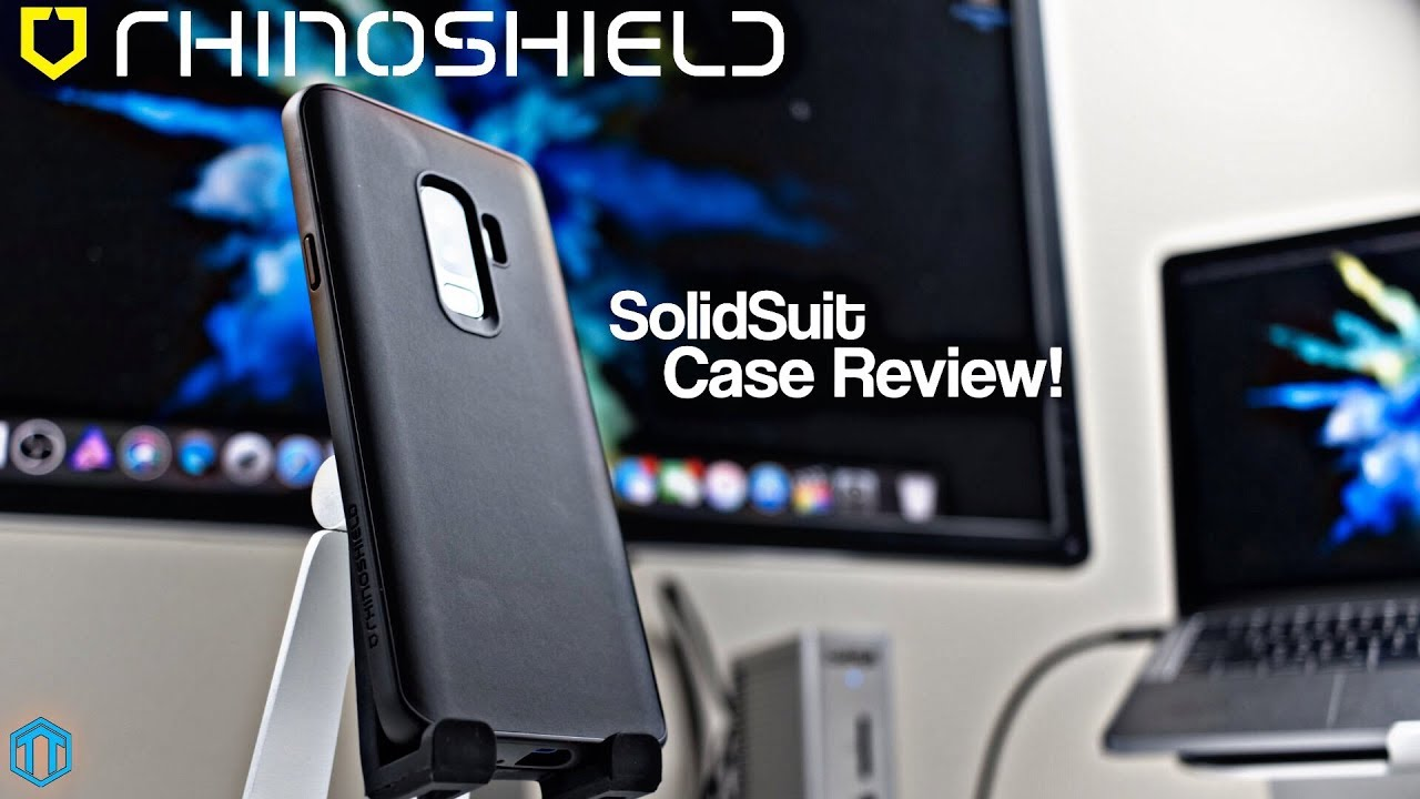 sports shoes b721e 86a95 Samsung Galaxy S9 Plus Rhinoshield SolidSuit Case Review!