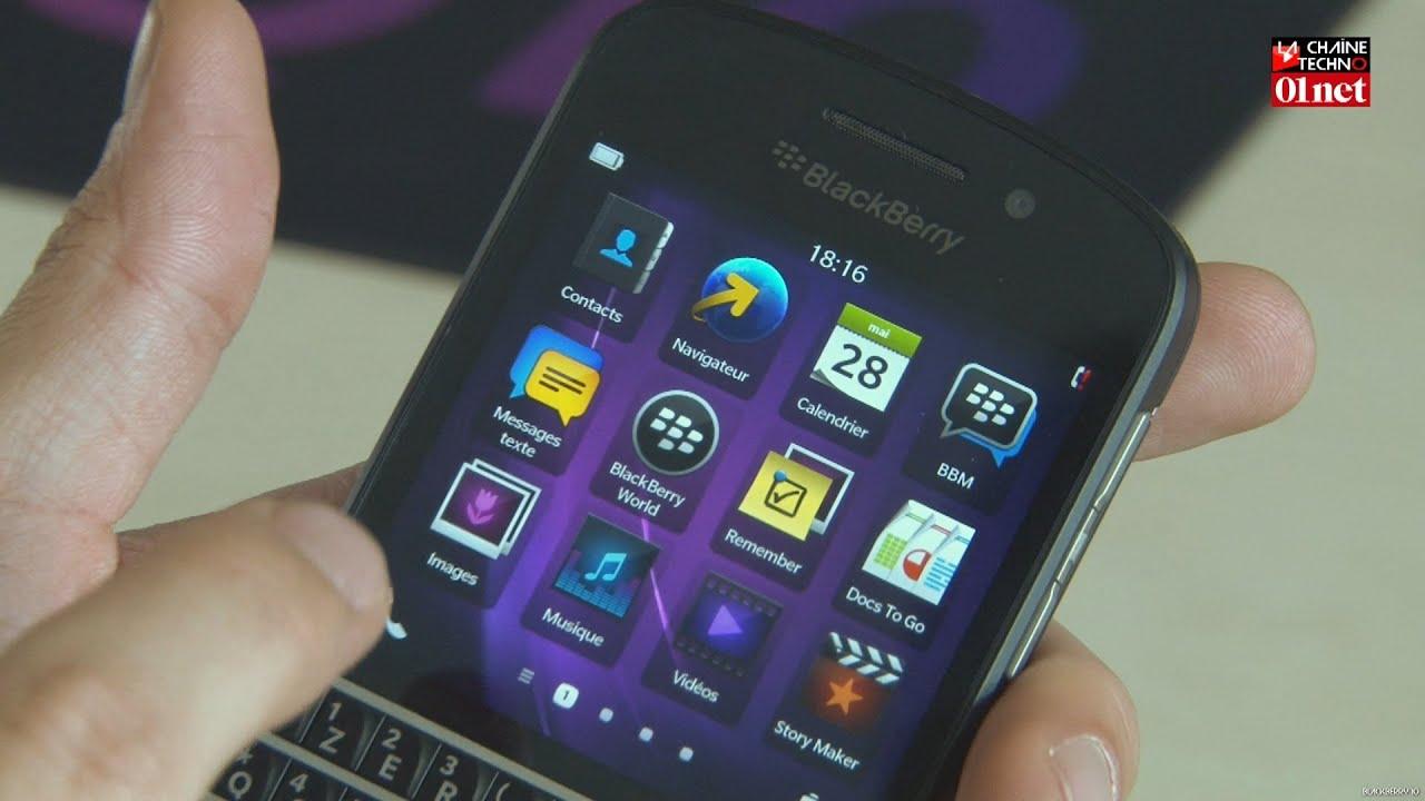 test du blackberry q10 le meilleur t l phone clavier. Black Bedroom Furniture Sets. Home Design Ideas